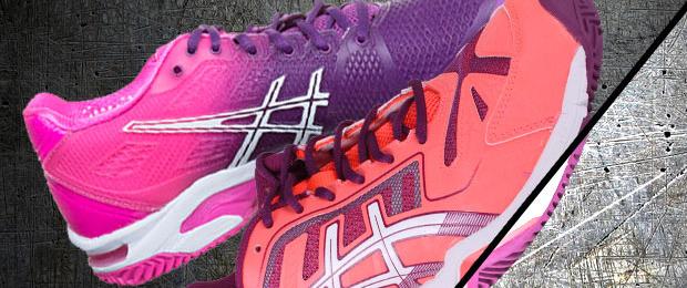 zapatillas de pádel ASICS para mujer