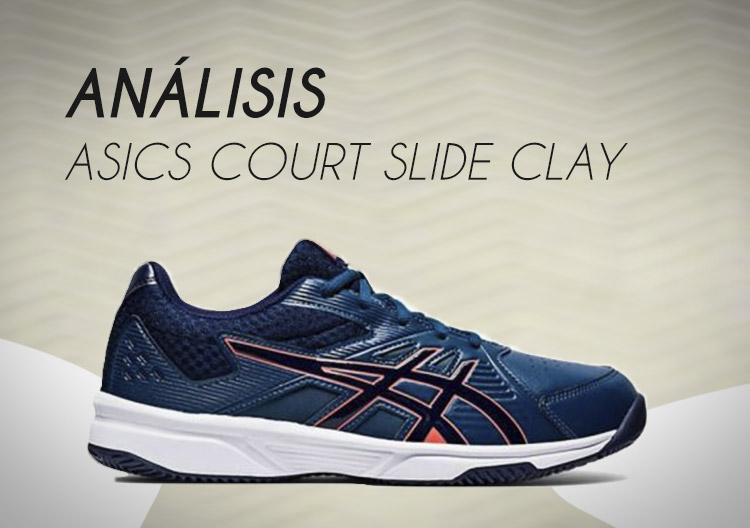 Asics Court Slide Clay