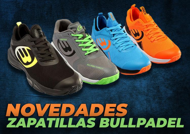 nuevas zapatillas Bullpadel