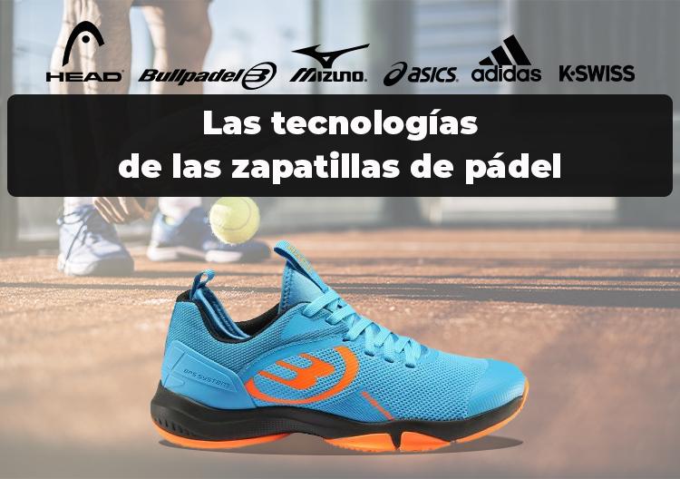 Zapatillas de pádel con tecnología