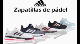 Zapatillas pádel de Adidas