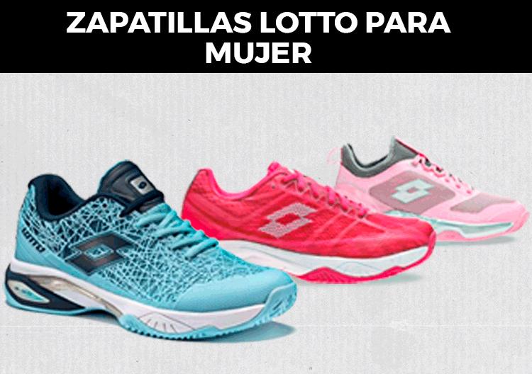 Zapatillas Lotto para mujer