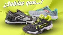 tecnologías zapatillas de pádel